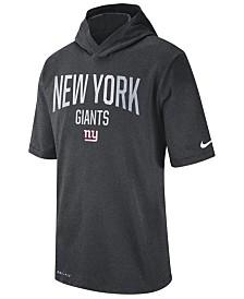 Nike Men's New York Giants Dri-FIT Training Hooded T-Shirt