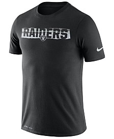 Nike Men's Oakland Raiders Dri-FIT Mezzo Tear T-Shirt