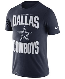 Nike Men's Dallas Cowboys Dri-FIT Cotton Property Of T-Shirt
