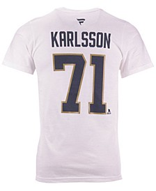 Men's William Karlsson Vegas Golden Knights Authentic Stack Name & Number T-Shirt