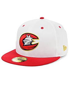 Charlotte Knights Retro Stars and Stripes 59FIFTY Cap