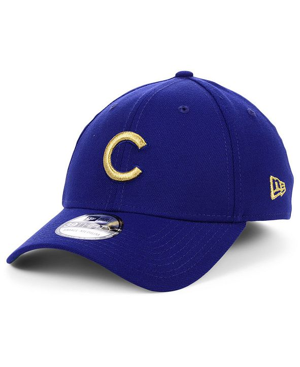 New Era Chicago Cubs Flag Patch 39THIRTY Cap