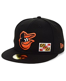 New Era Baltimore Orioles Flag Day State 59FIFTY Cap