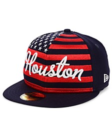 New Era Houston Astros Retro Big Flag 59FIFTY Cap