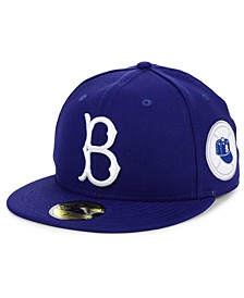 Brooklyn Dodgers World Series Patch 59FIFTY Fitted Cap