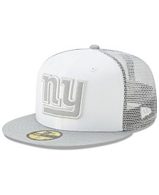 New Era New York Giants White Cloud Meshback 59FIFTY Cap