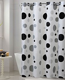 Retro Dots Shower Curtain
