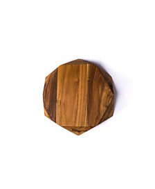 Edge of Belgravia Teak Star Small Slim Edition Chopping Board