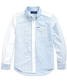 Polo Ralph Lauren Big Boys Oxford Spade Shirt