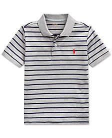 Little Boys Lisle Performance Knit Polo Shirt