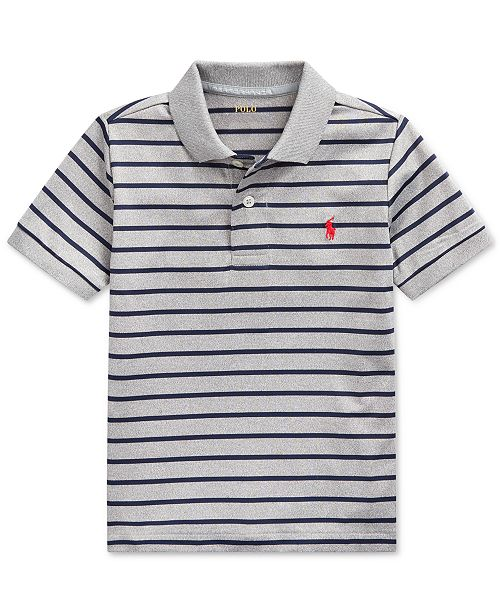 Polo Ralph Lauren Little Boys Lisle Performance Knit Polo Shirt