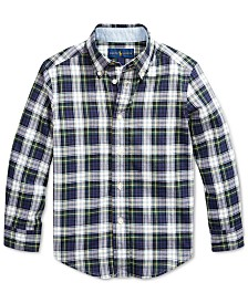 Polo Ralph Lauren Little Boys Madras Plaid Shirt