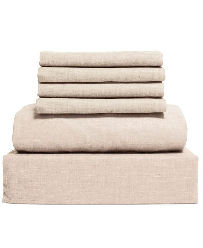 Lintex Chambray 6-Piece Sheet Set, Size- Full