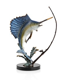 Home Fighting Sailfish Sculpture
