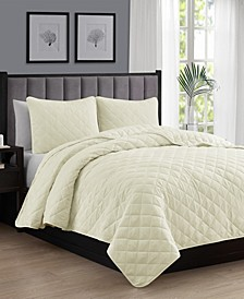 Oversize Lightweight Quilt Coverlet Set - Twin/Twin XL