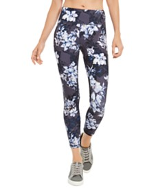 Ideology Botanic Printed Leggings, Created for Macy's
