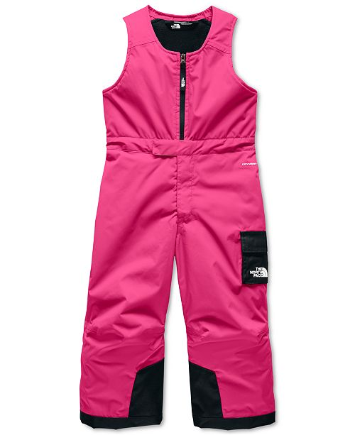 The North Face Toddler Girls Insulated Snowbib