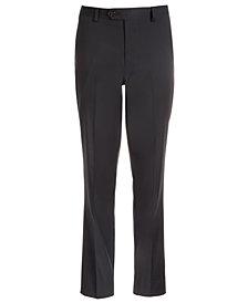Lauren Ralph Lauren Big Boys Classic-Fit Stretch Black Stripe Suit Pants