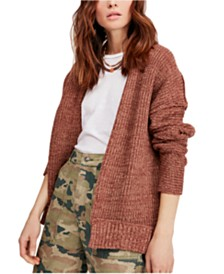 Free People High Hopes Open-Front Cardigan