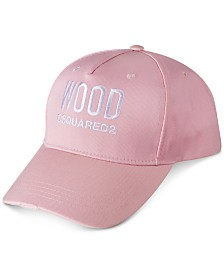 Receive a FREE Baseball Cap with any large spray purchase from the DSQUARED2 Women's Wood fragrance collection