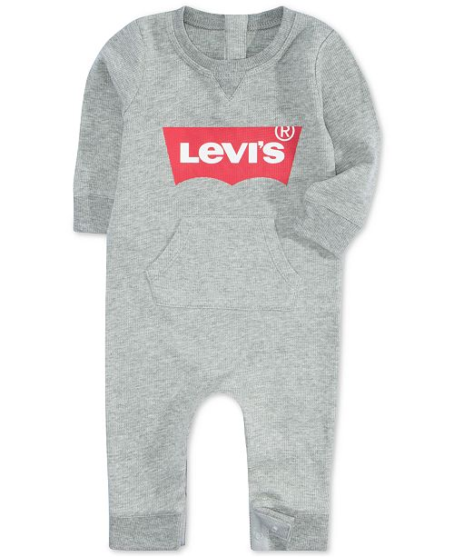 Levi's Baby Boys & Girls Waffle Thermal Coverall