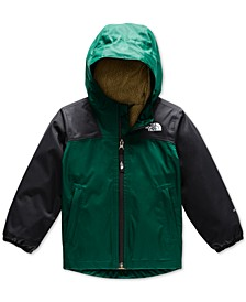 Toddler Boys Warm Storm Hooded Jacket