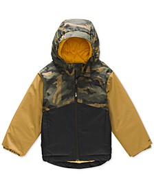 Toddler Boys Snowquest Insulated Hooded Jacket