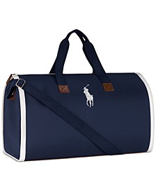 Receive a Complimentary Garment Bag with any large or jumbo spray purchase from select Ralph Lauren Men's Polo fragrance collection
