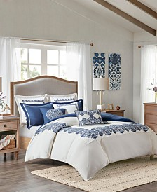 Madison Park Signature Indigo Sky 9-Pc. Comforter Sets
