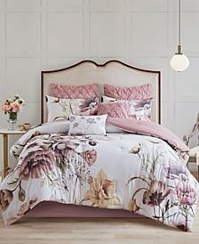 Cassandra 8 Piece Cotton Printed Comforter Set