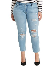 Levi's® Trendy Plus Size  711 Skinny Ankle Jeans