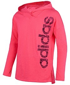 Big Girls Logo-Print Cotton Hoodie