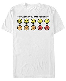 Disney Men's Big Hero 6 What's Your Pain Rating Short Sleeve T-Shirt