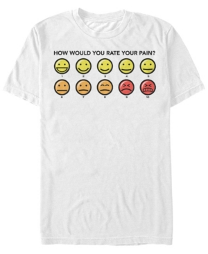 6 What's Your Pain Rating Short Sleeve T-Shirt