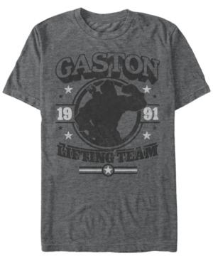 Disney Men's Beauty and The Beast Gaston Short Sleeve T-Shirt