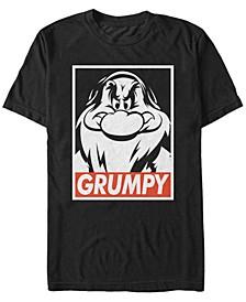 Disney Men's Snow White I'm with Grumpy Short Sleeve T-Shirt