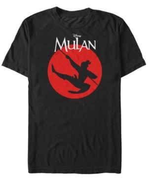 Disney Men's Mulan Warrior Pose Short Sleeve T-Shirt