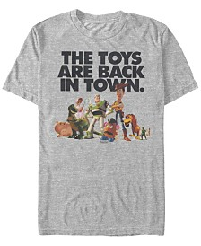 Disney Pixar Men's Toy Story Toys Are Back In Town Short Sleeve T-Shirt
