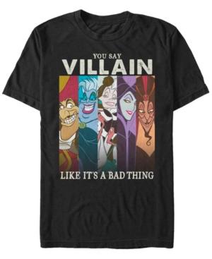 Disney Men's So Good at Being Bad Group Panels Short Sleeve T-Shirt