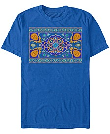 Disney Men's Live Action Magic Carpet Portrait Short Sleeve T-Shirt