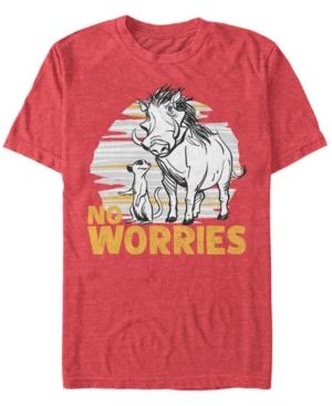Live Action Timon Pumbaa No Worries Short Sleeve T-Shirt
