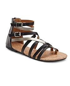 Modern Romance Two Tone Sandals