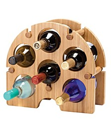 Bamboo Arch Wine Rack