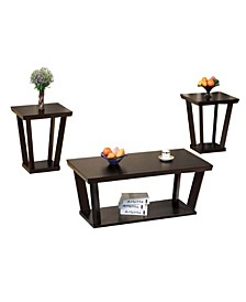 Contemporary Style Coffee and End Table