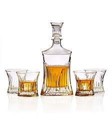 5-Piece Whiskey Decanter Set