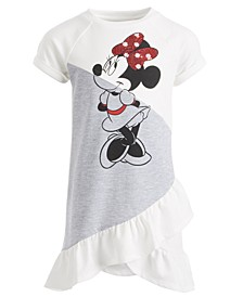 Little Girls Ruffled Minnie Mouse Dress