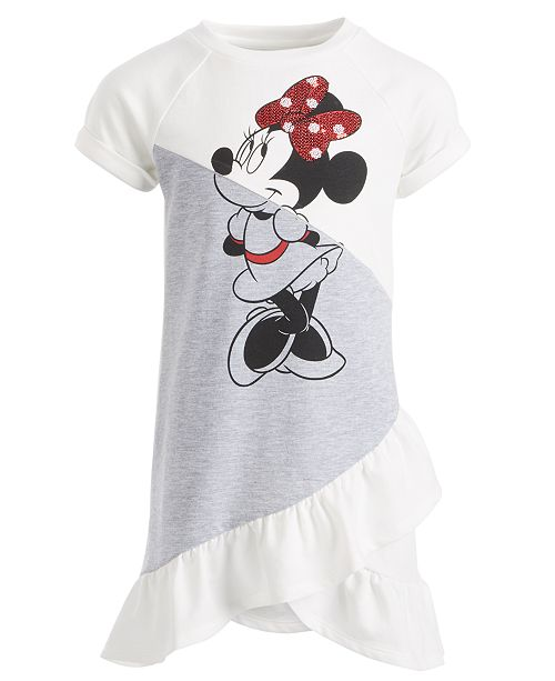 Disney Toddler Girls Ruffled Minnie Mouse Dress