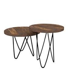 Posey Coffee Table Set, Quick Ship