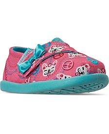 Toddler Girls Lil BOBS Solstice 2.0 Peaceful Pups Slip-On Stay-Put Closure Casual Sneakers from Finish Line