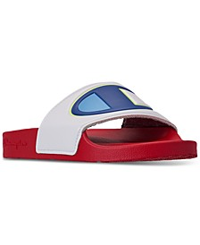 Women's IPO Color Block Slide Sandals from Finish Line